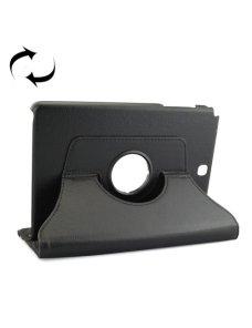 "Estuche Negro con Soporte con Rotacion para Galaxy Tab A 9.7"" P550"