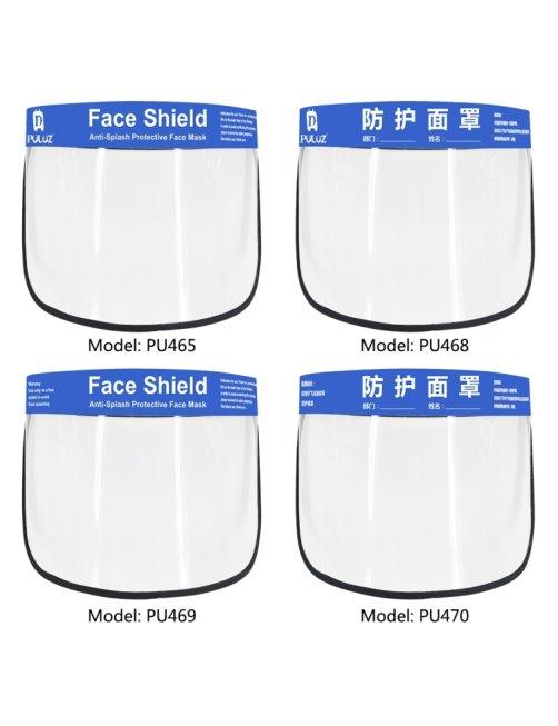 Protector Facial, Mascara Antsalpicadura Antifluido Antivirus Antisaliva, Certificada