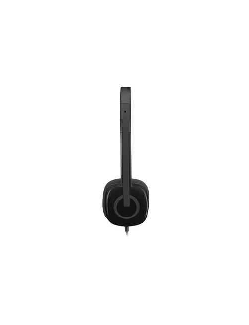 Logitech Stereo H151 - Auricular - en oreja - cableado - Imagen 7