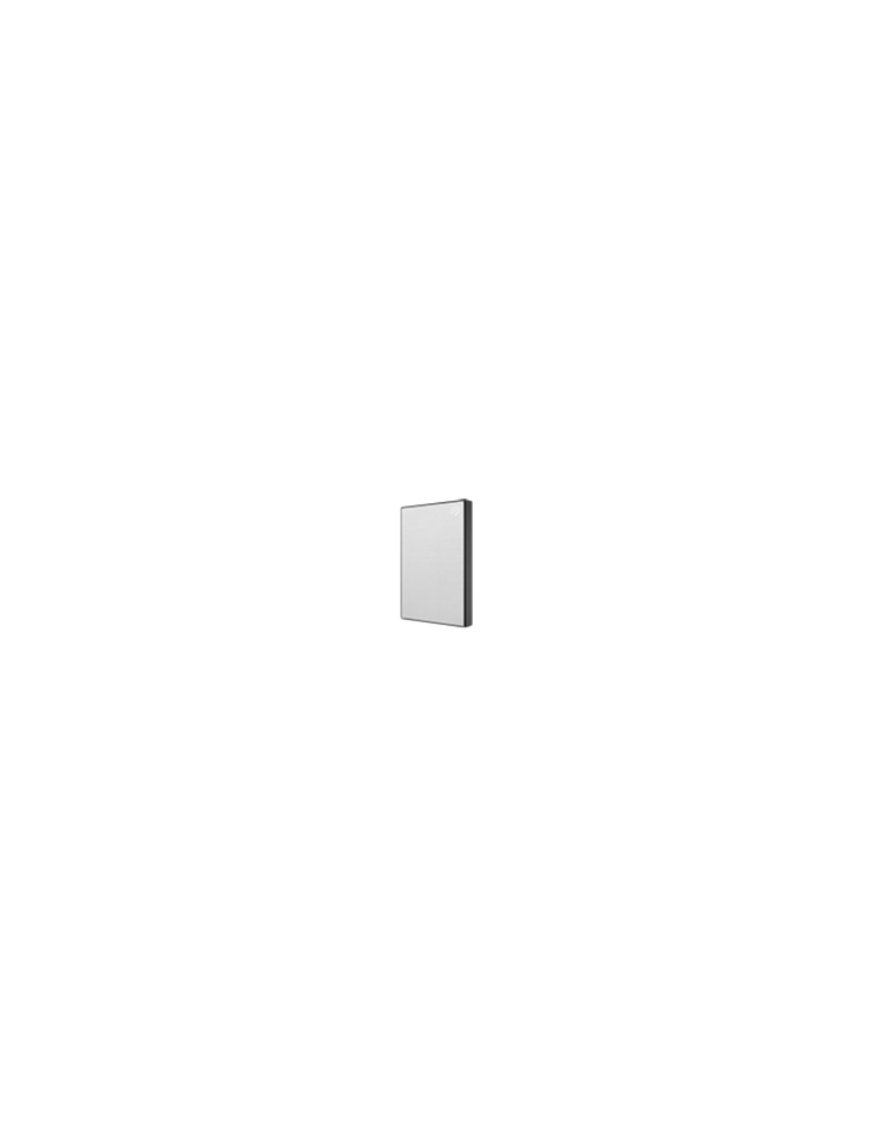 Seagate Backup Plus Slim - External hard drive - 2 TB - USB 3.0 - Silver - Imagen 1