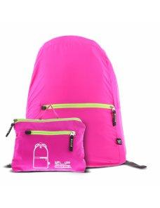 Klip Xtreme - Nylon fabric - Neon pink - Foldable Backpack - Imagen 1