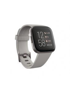 Fitbit Versa 2 - Gris verdoso - reloj inteligente con banda - silicona - piedra - Bluetooth - 40 g - Imagen 1