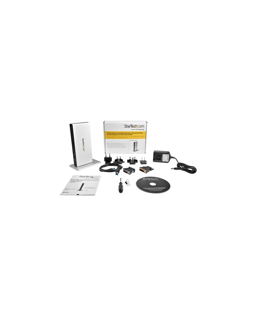 Base Conexion USB 3.0 Doble DVI Ethernet - Imagen 7