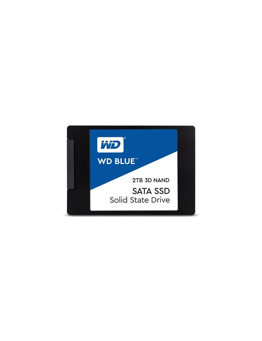 "WD Blue 3D NAND SATA SSD WDS200T2B0A - Unidad en estado sólido - 2 TB - interno - 2.5"" - SATA 6Gb/s - Imagen 1"