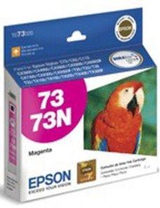 Epson 73 - Magenta - original - cartucho de tinta - para Stylus C79, CX3900, CX4900, CX5900 - Imagen 1