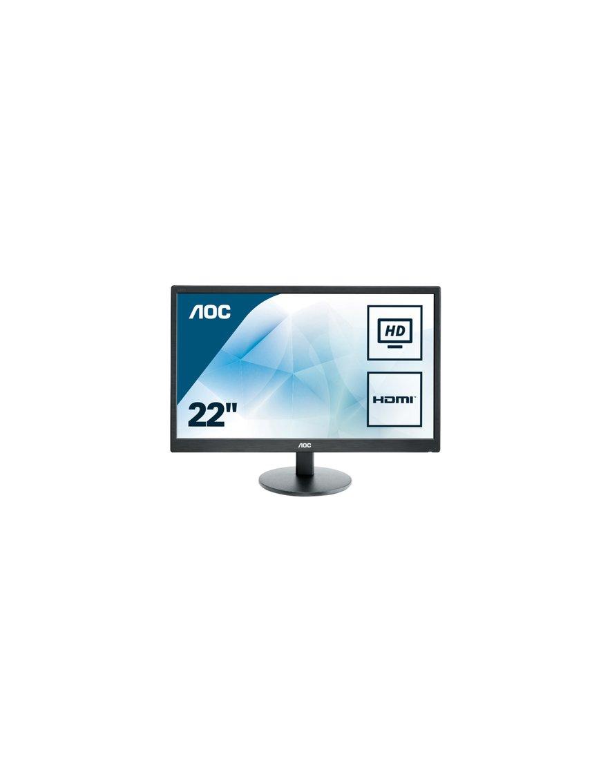 MONITOR AOC 21.5 NEGRO LED WIDE HDMI y VGA - Imagen 14