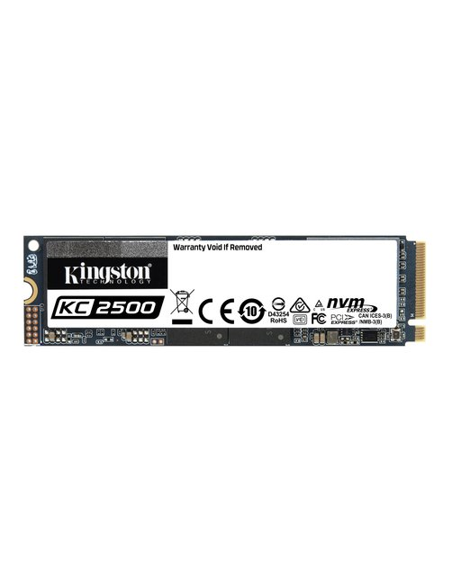 SSD 500 GB KC2500 M.2 2280 NVMe PCIe Gen 3.0 - Imagen 1