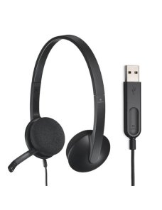 Audifonos Logitech USB Headset H340