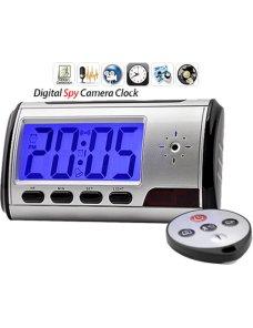 Reloj Con Camara Espia, Detecta Movimiento