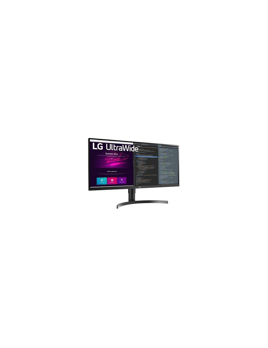 "LG 34WN750-B - LED-backlit LCD monitor - 34"" - 3440 x 1440 - IPS - HDMI / DisplayPort / USB - Black - Imagen 2"
