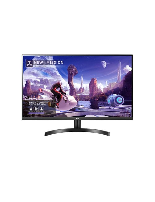 "LG 32QN600-B - LED-backlit LCD monitor - 32"" - 2560 x 1440 - IPS - HDMI / DisplayPort / USB - Black - Imagen 1"