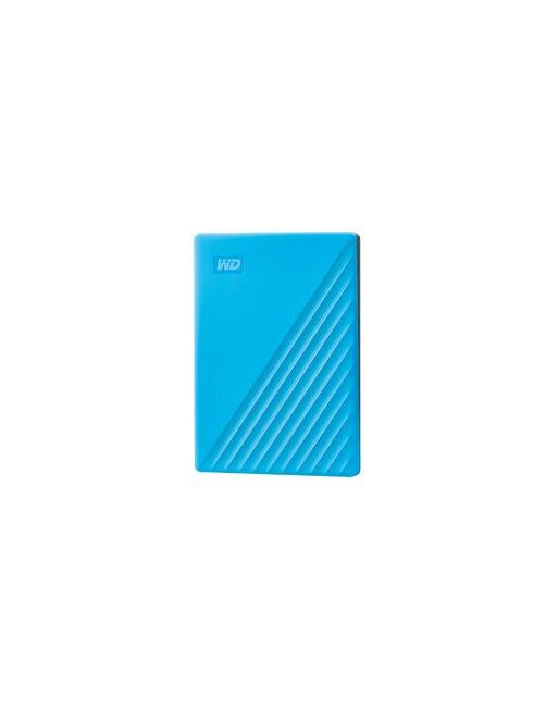 WD My Passport WDBYVG0020BBL - Disco duro - cifrado - 2 TB - externo (portátil) - USB 3.2 Gen 1 - AES de 256 bits - azul - Image
