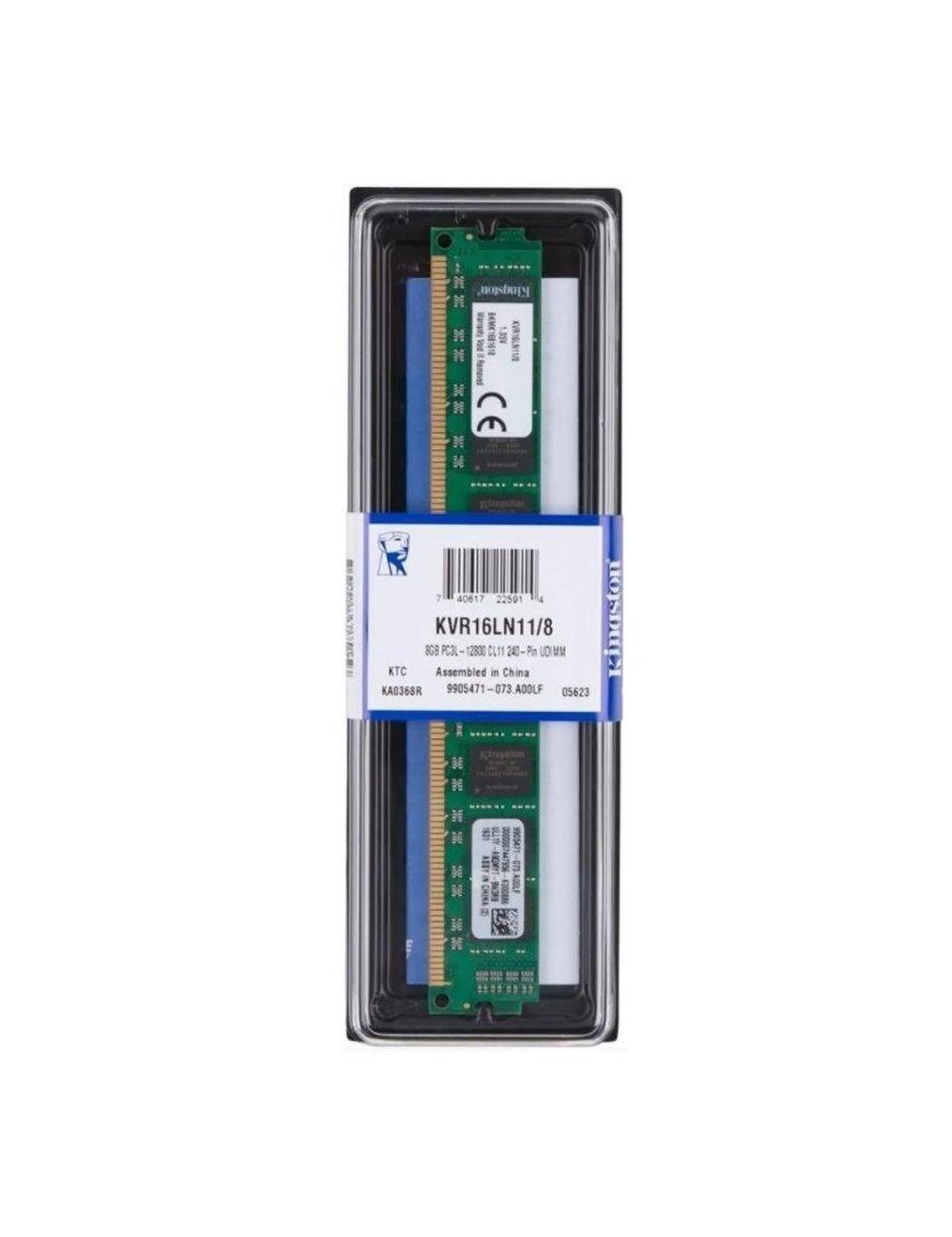 Kingston ValueRam - DDR3 SDRAM - 4 GB - SO-DIMM 260-pin - 1600 MHz - Generic KVR16N11S8/4WP
