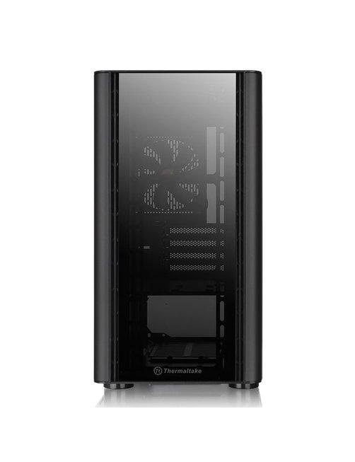 Gabinete  V150 TG/Black/Win/SPCC/Tempered Glass - Imagen 2