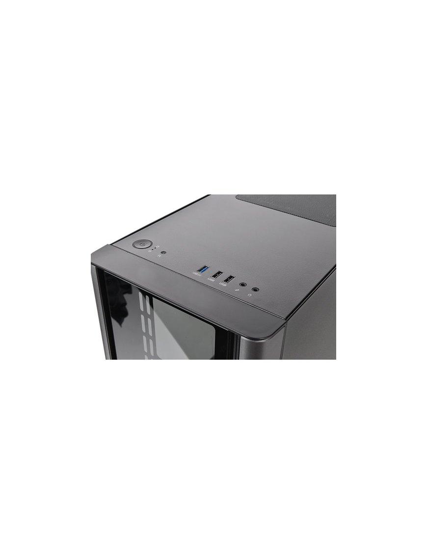 Gabinete  V150 TG/Black/Win/SPCC/Tempered Glass - Imagen 5