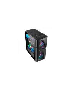 GAME PRO CASE N23B 3 VENTILADORES RGB 1093B