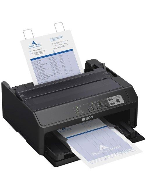 Epson FX 890II - Impresora - monocromo - matriz de puntos - Rollo (21,6 cm), 254 mm (anchura), 257 x C11CF37201 - Imagen 1