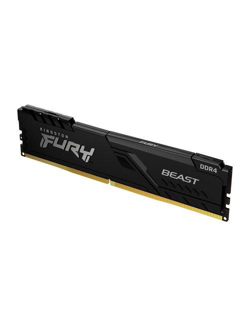 Mem FURY Beast 4GB 2666MHz DDR4 CL16 Desktop - Imagen 4