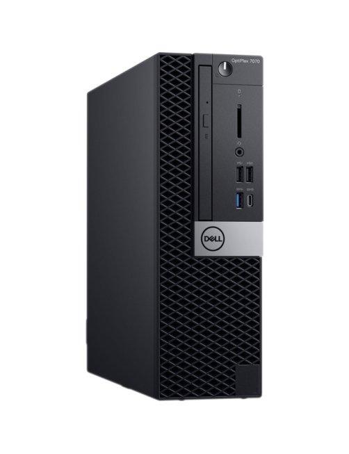 Dell OptiPlex 7070 - MLK - SFF - 1 x Core i7 9700 / 3 GHz - RAM 8 GB - HDD 1 TB - grabadora de DVD - 157D5 - Imagen 1