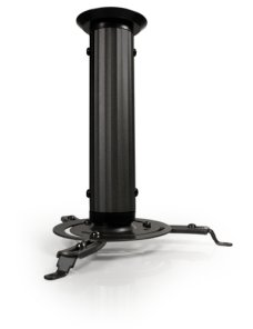 Klip Xtreme KPM-410B - Kit de montaje (montaje en techo inclinado/giratorio, columna) para proyector - aluminio, acero - negro -