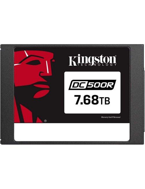 "Kingston Data Center DC500R - Unidad en estado sólido - cifrado - 7.68 TB - interno - 2.5"" - SATA 6G SEDC500R7680G"