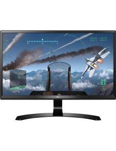 "LG - LED-backlit LCD monitor - 23.8"" - 3840 x 2160 - IPS - DisplayPort / HDMI - 24UD58-B 24UD58-B.AWH - Imagen 1"